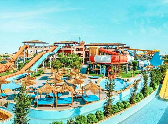 Vakantie Egypte met zwemparadijs met tieners