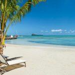 Mooi resort aan het strand van Mauritius