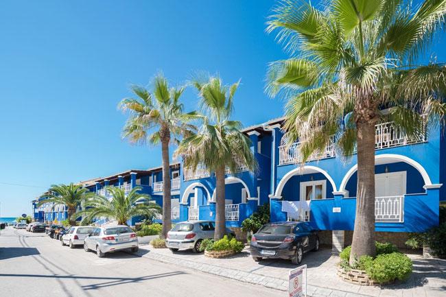 Blue Waves Hotel Zakynthos, ervaring