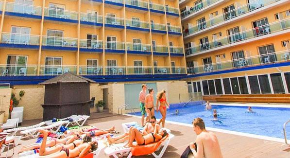 Vakantie in Lloret de Mar met jongeren
