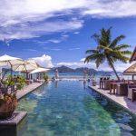 Luxe hotel op het eiland La Dique