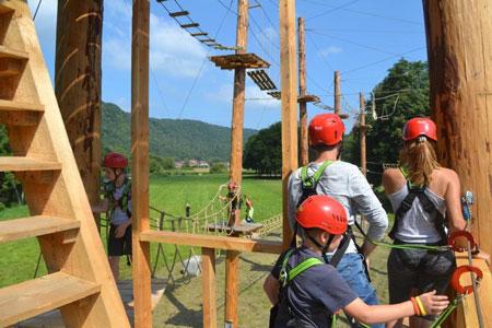 Vakantiekamp Ardennen voor tieners
