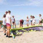 Windsurfkamp aan het Oostvoornse meer en dichtbij de zee