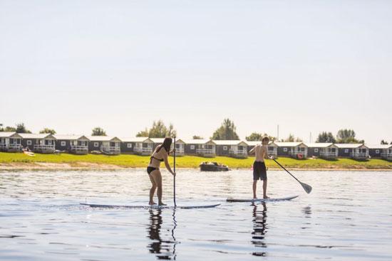 Vakantiepark Betuwe met tieners