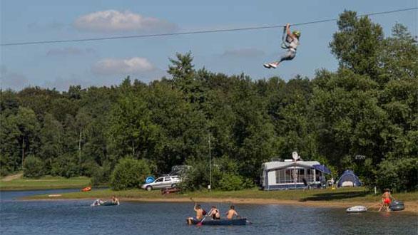 Vakantiepark in Drenthe met tieners
