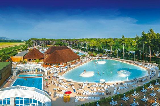 Vakantiepark Italië met zwemparadijs