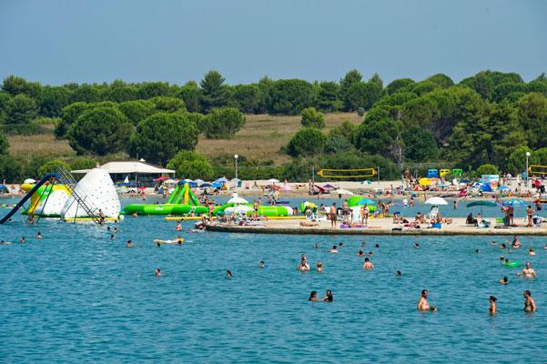 Vakantiepark in Kroatie met oudere jeugd