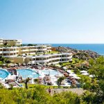 Uitgebreid all-inclusive resort in Griekenland