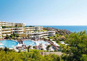 Uitgebreid all-inclusive resort in Griekenland