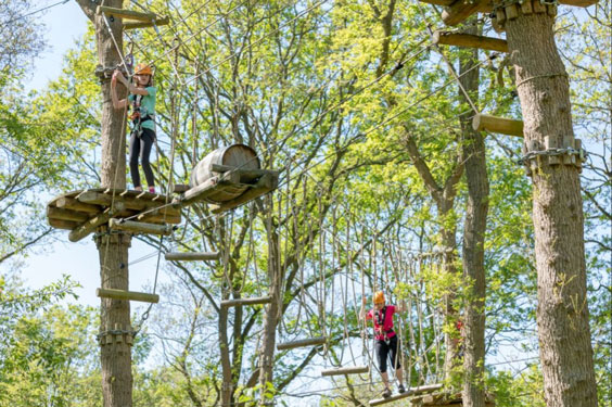 Villapark Overijssel met tieners