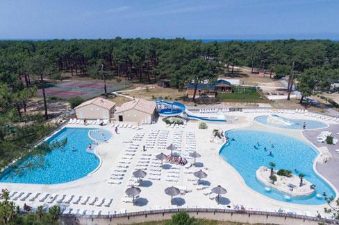Vakantie in Frankrijk met tieners met zwemparadijs