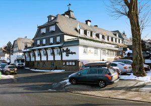 Wintersporten aan de voet van de Kahler Asten, in Winterberg