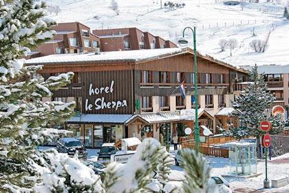 Wintersport in Les Deux Alpes met tieners