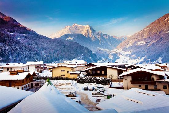 Wintersport Mayrhofen met tieners