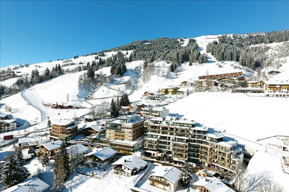 Wintersport Saalbach met tieners