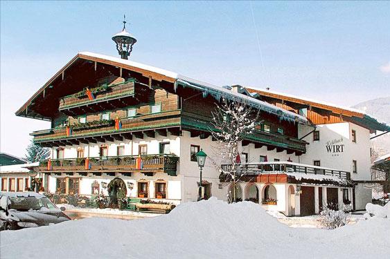 Wintersport Zell am See met tieners