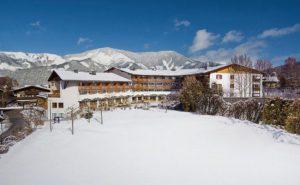 Wintersporten in Zell am see met tieners