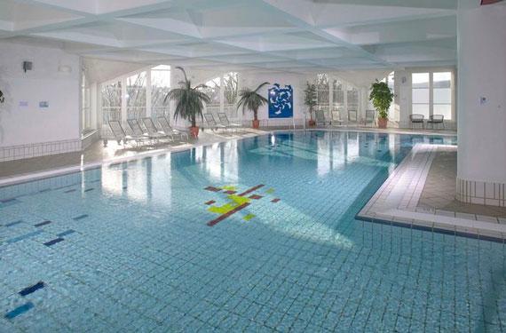 Wintersport met zwembad in Duitsland