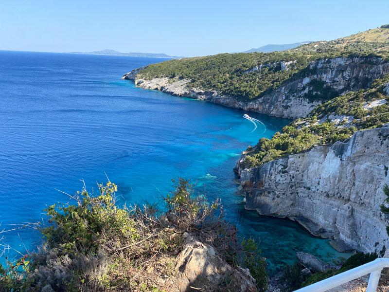 Blue Caves activiteiten Zakynthos