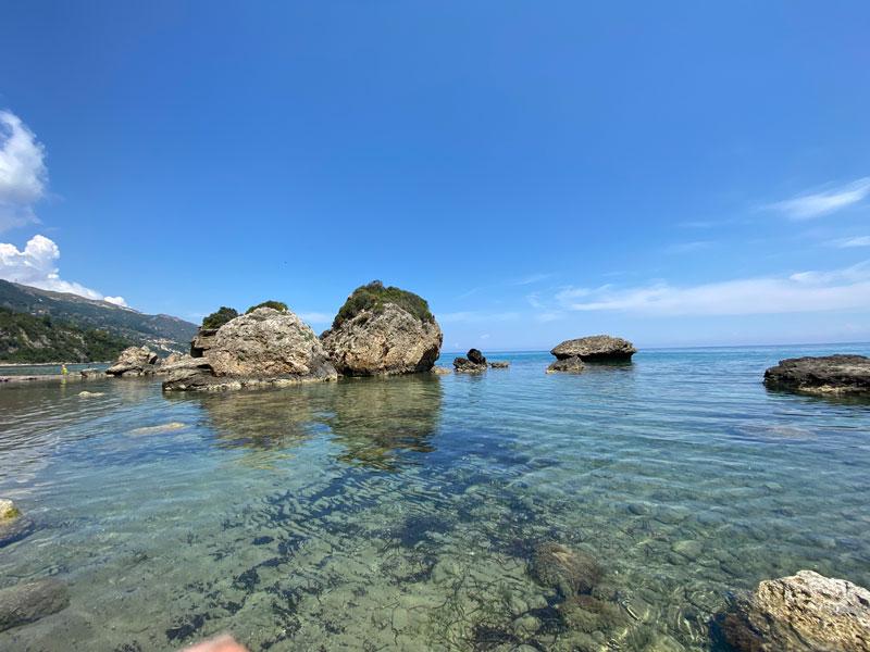 Strandjes op Zakynthos