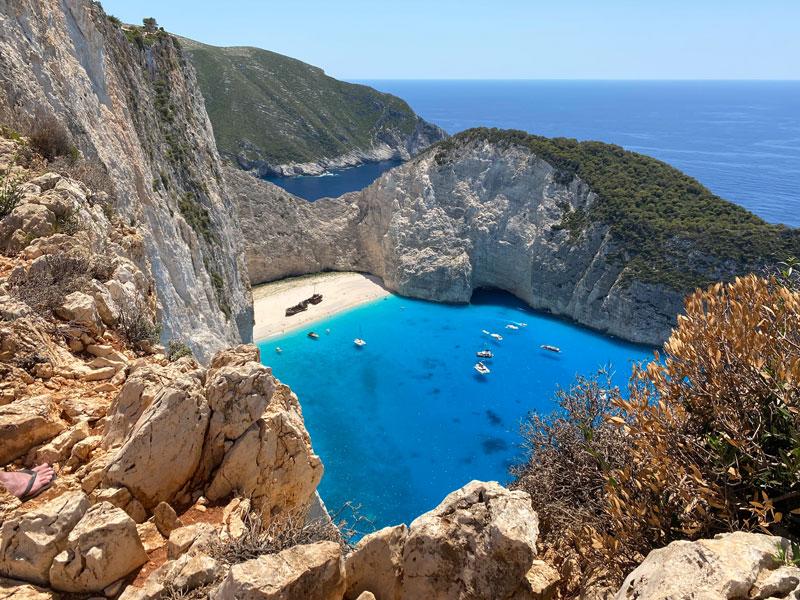 Shipwreck Viewpoint activiteiten Zakynthos