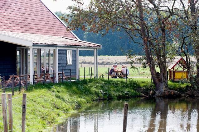 Recreatiepark in Zeeland met tieners