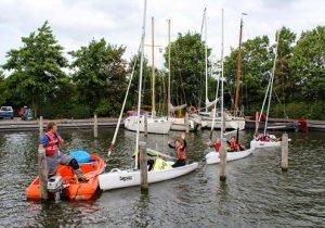 Een té gekke week zeilen met leeftijdsgenoten in Friesland