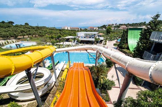 Zonvakantie in Griekenland met zwemparadijs