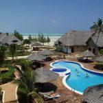 Gezellig resort aan het mooie strand van Zanzibar