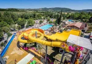 Top camping met mega zwemparadijs in de mooie omgeving van de Ardèche