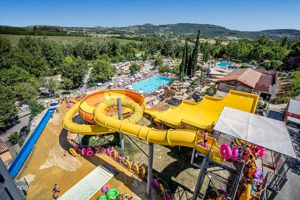 Camping met zwemparadijs in Frankrijk