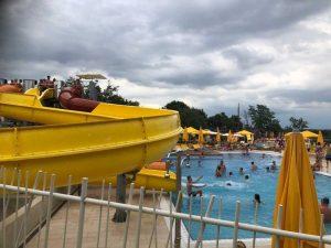 Aquapark op camping Lanterna-Valamar