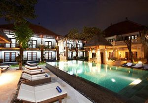 Luxe winterzon resort in Bali