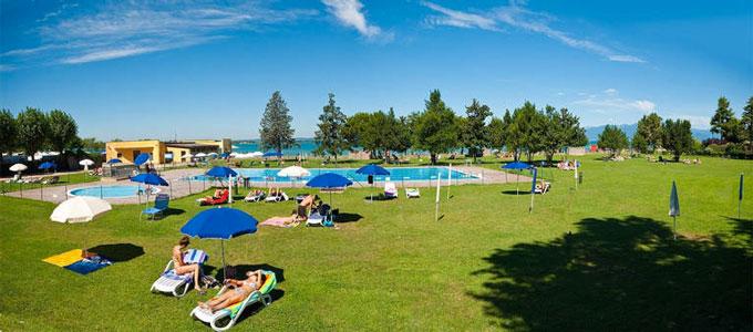 Camping aan het Gardameer met tieners