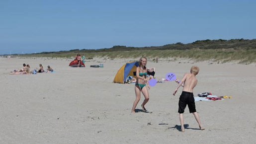 Camping Zuid-Holland met tieners