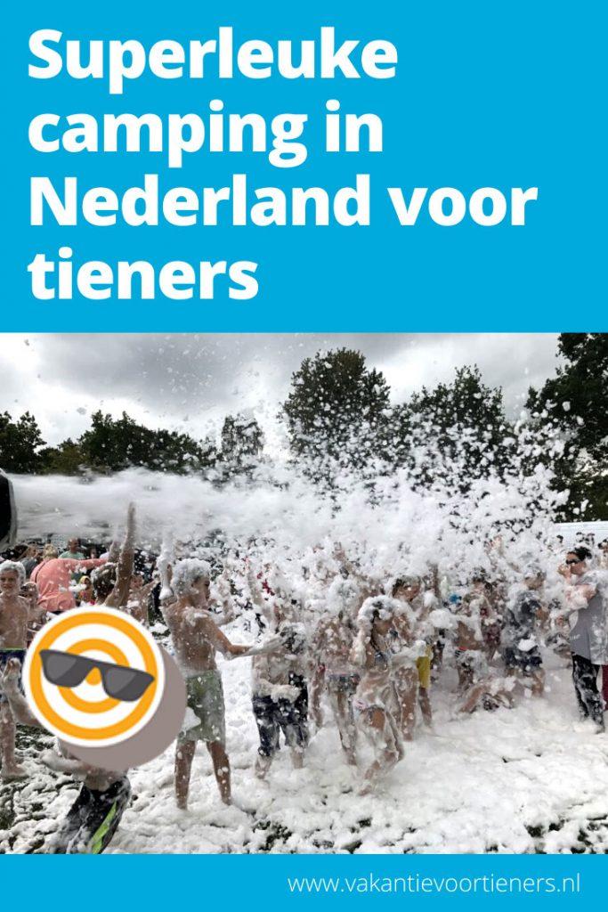 Superleuke camping in Nederland, leuk voor tieners