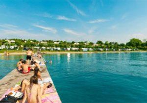 Leuke camping met zwemparadijs aan het Gardameer