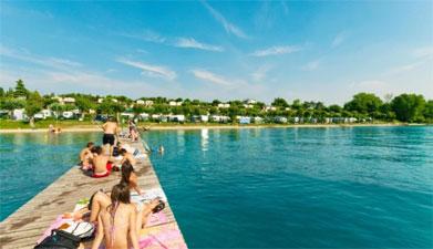Camping aan het Gardameer met zwemparadijs