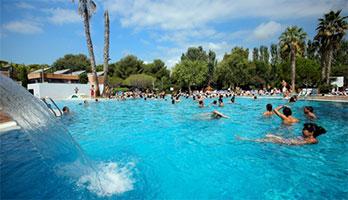 Leuke camping aan de Costa Dorada met zwemparadijs