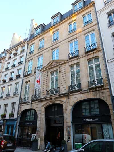 Goede hotels Parijs centrum