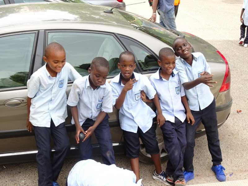 Kinderen in Senegal
