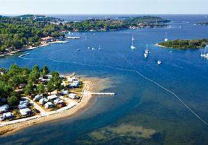 Geweldige terrassencamping in één van de mooiste gebieden van Kroatië
