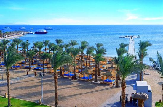 Resort Egypte met oudere jeugd