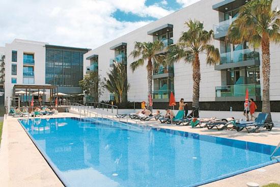 Luxe resort Portugal met tieners