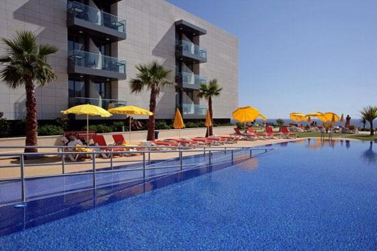 Luxe resort Madeira met tieners