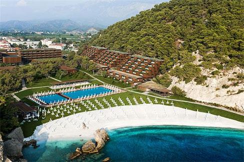 Luxe resort in Turkije met tieners