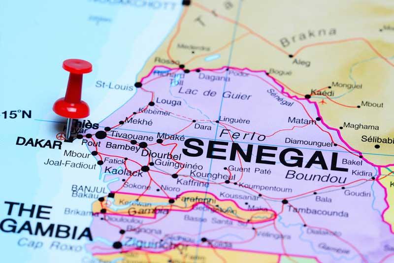 Naar Senegal op vakantie, vliegveld Dakar