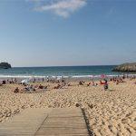 Camping aan een prachtig zandstrand in Spanje