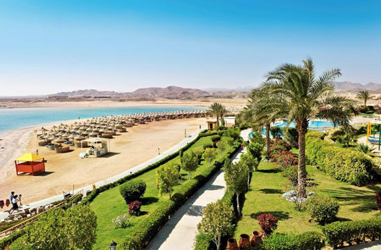 Resort Hurghada met tieners