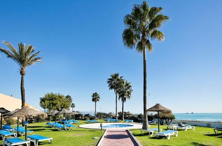 Stedentrip aan het strand Malaga